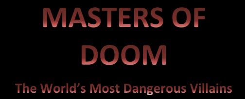 master of doom logo